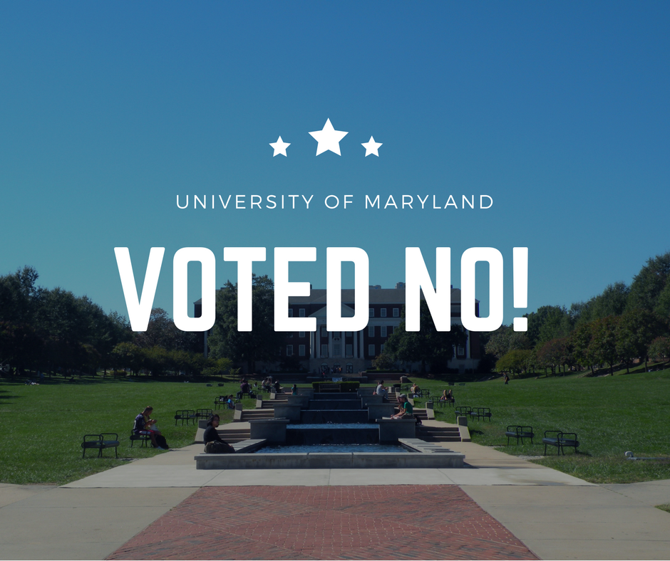 StandWithUs Congratulates UMD students for Rejecting Hateful Divestment Resolution