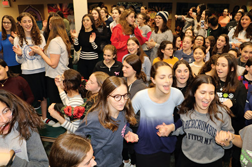 Israel Programming at Ma`ayanot Inspires Students